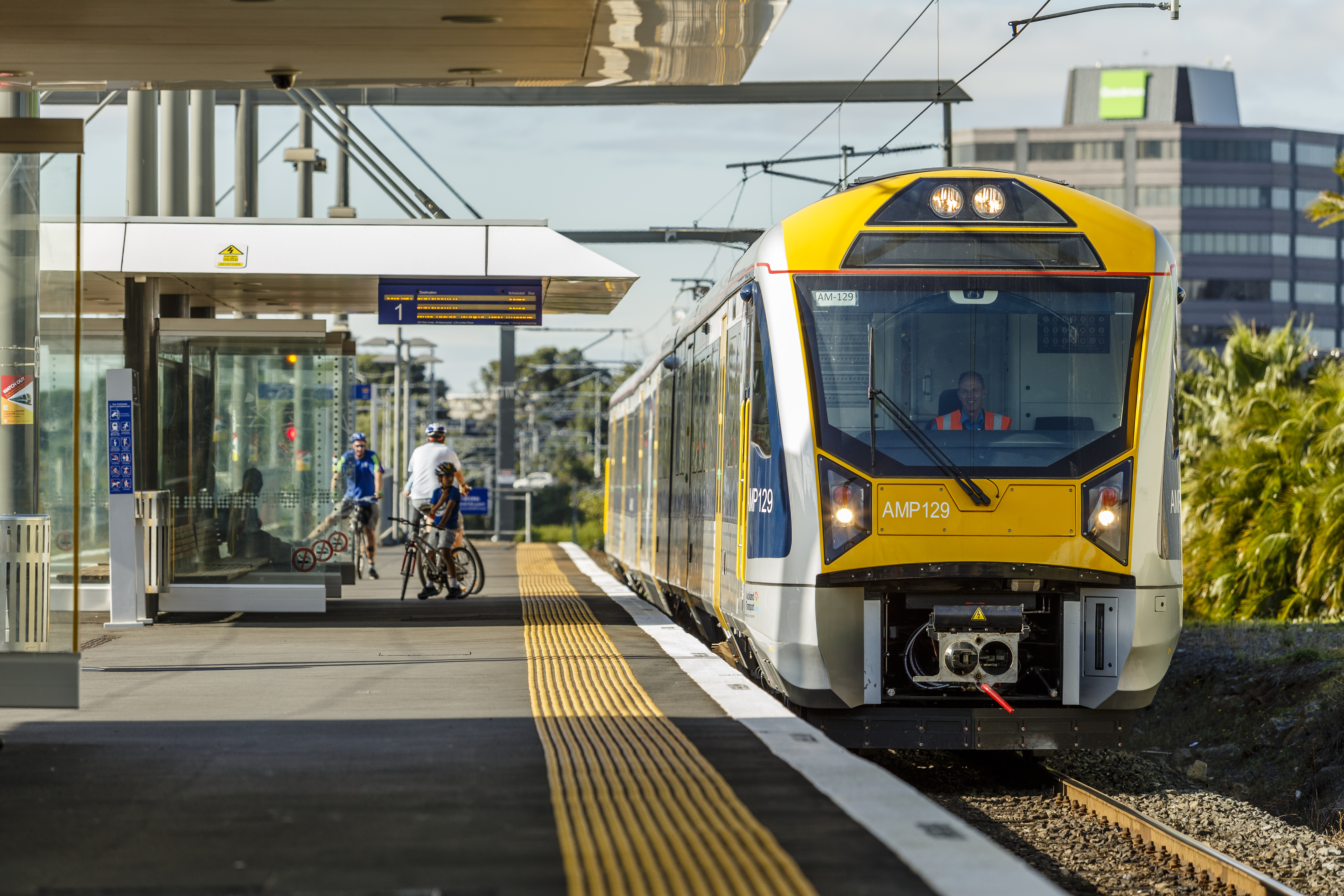 Project and City: Auckland Transport electric trains, Auckland, New Zealand.