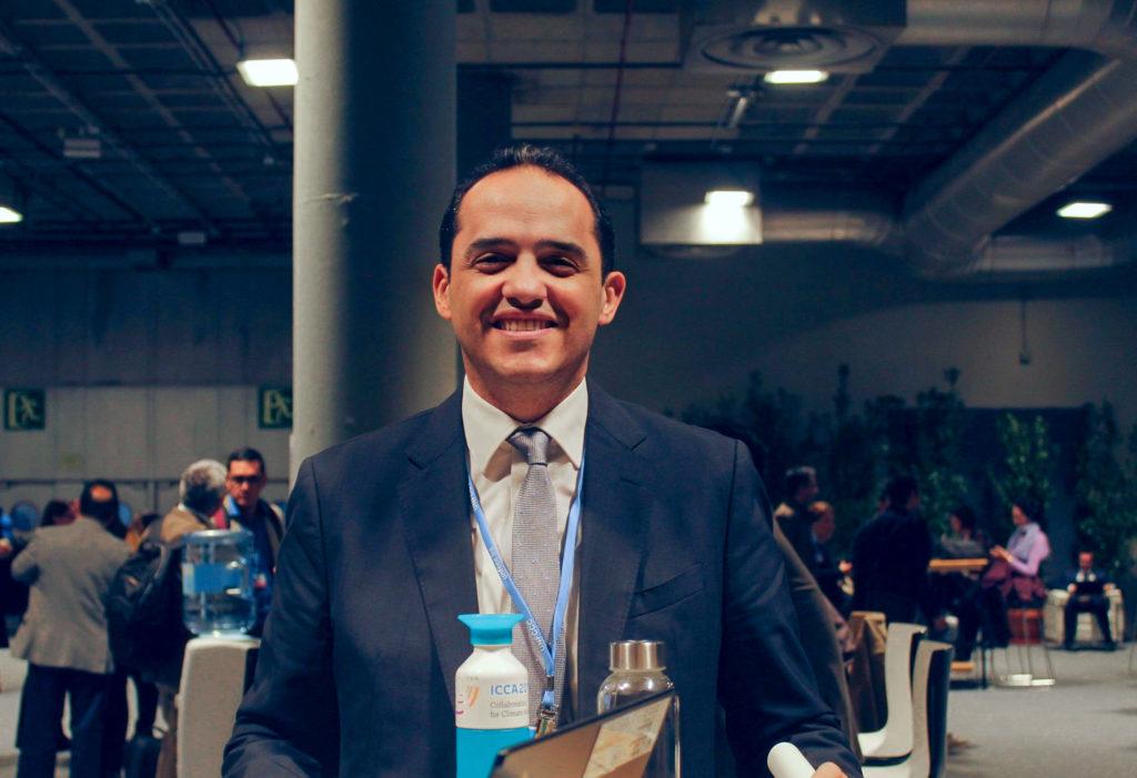 Ahmed Al Qabany of the Islamic Development Bank