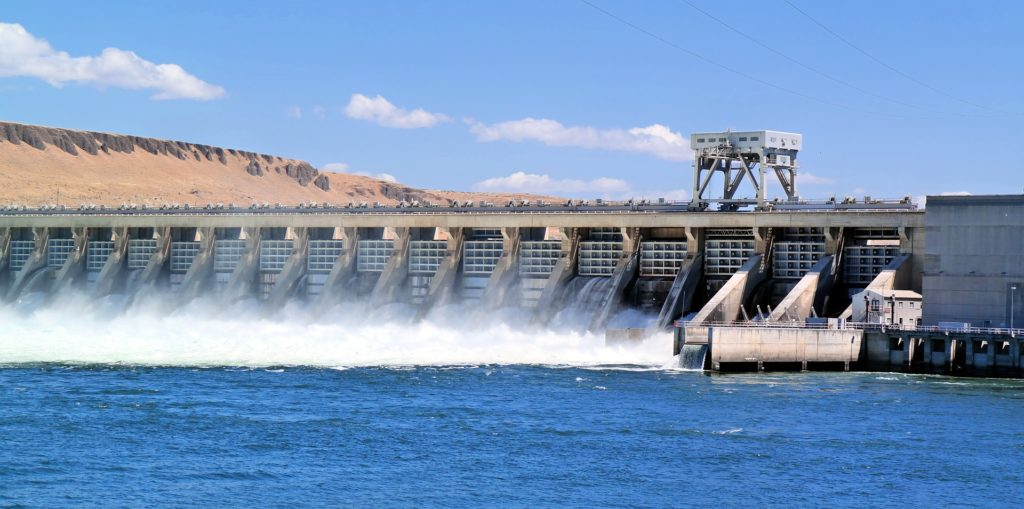 Hydropower facilities can be used for water storage and redistribution